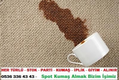 halı yıkama HER TÜRLÜ - STOK - PARTİ - KUMAŞ - İPLİK - GİYİM - ALINIR  0536 336 43 43 -    Spot Kumaş Almak Bizim İşimiz