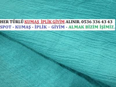 krep kumaş HER TÜRLÜ KUMAŞ İPLİK GİYİM ALINIR. 0536 336 43 43 - Toptan Krep Kumaş Alanlar