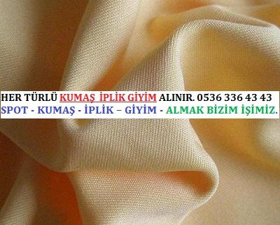 interlok HER TÜRLÜ KUMAŞ  İPLİK GİYİM ALINIR. 0536 336 43 43