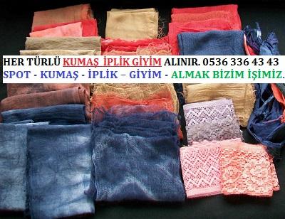 parça kumaş HER TÜRLÜ KUMAŞ  İPLİK GİYİM ALINIR. 0536 336 43 43