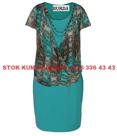 47 - Şifon Elbise Modası