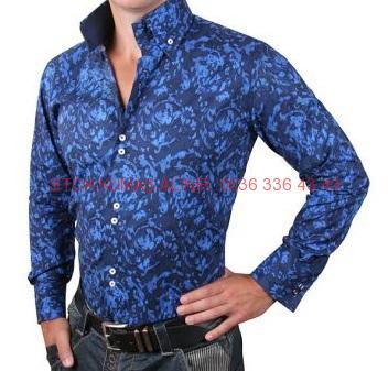 55 - Gömlek Modası Gömlek Kumaşı