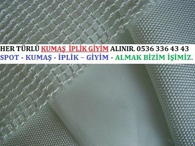 teflon HER TÜRLÜ KUMAŞ İPLİK GİYİM ALINIR. 0536 336 43 43 - Teflon Kumaş Alınır.