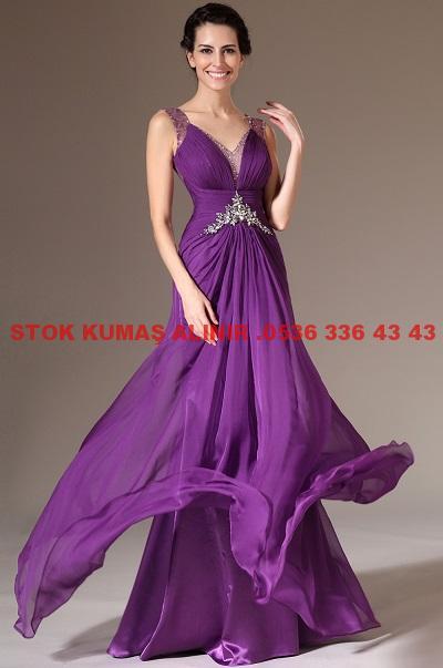411 - Krep Elbise Modelleri