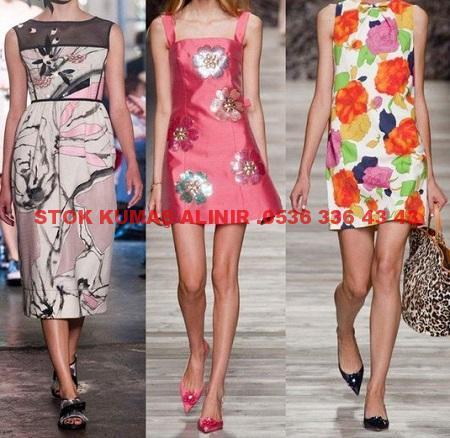 7 - 2016 İlkbahar Elbise Modası