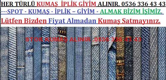012 - Parça Kot Kumaş Alan Yerler